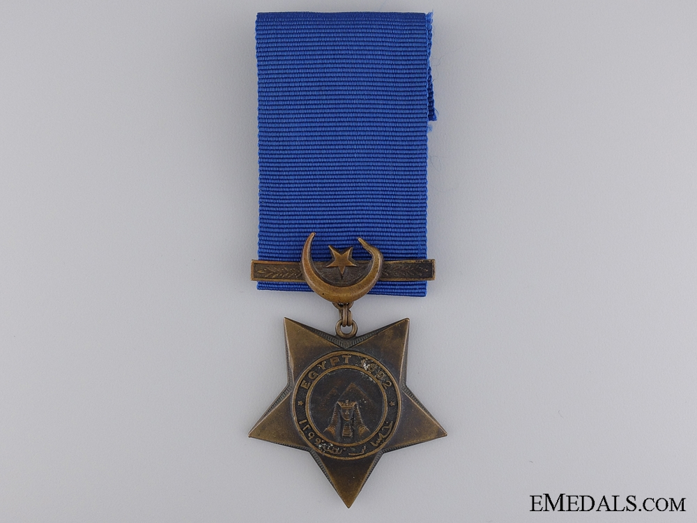 1882 Khedive's Star; Unnamed