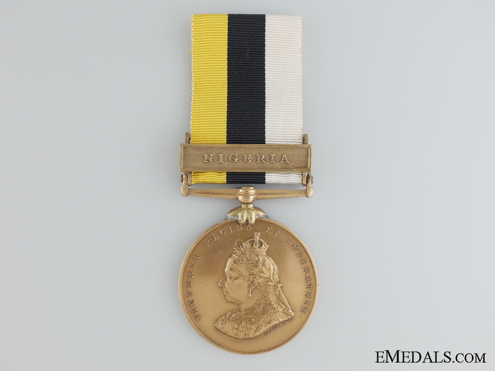 1886-99 Royal Niger Company's Medal; A Spink's & Son Tailor's Issue