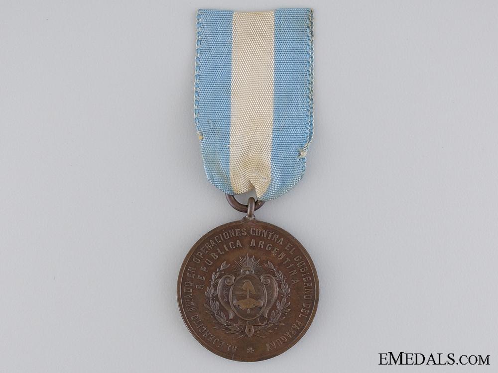 Paraguay. An 1889 War Medal