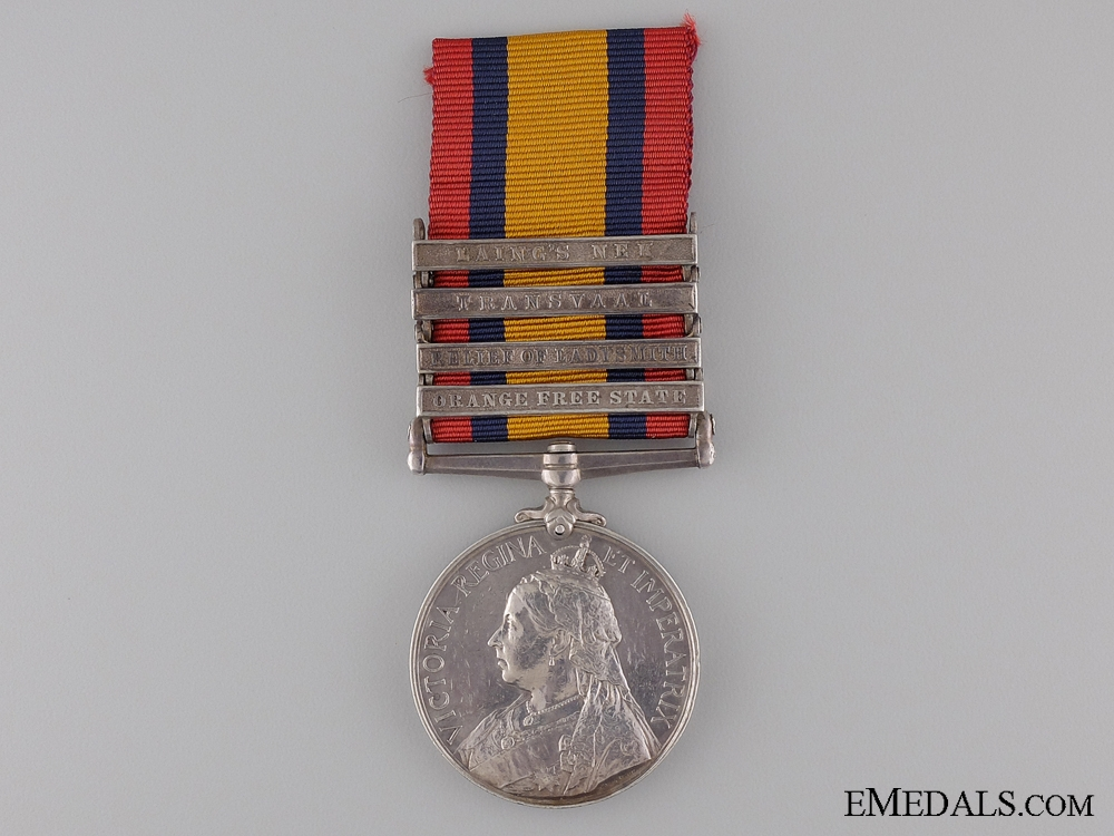 1899-1902 Queen's South Africa Medal