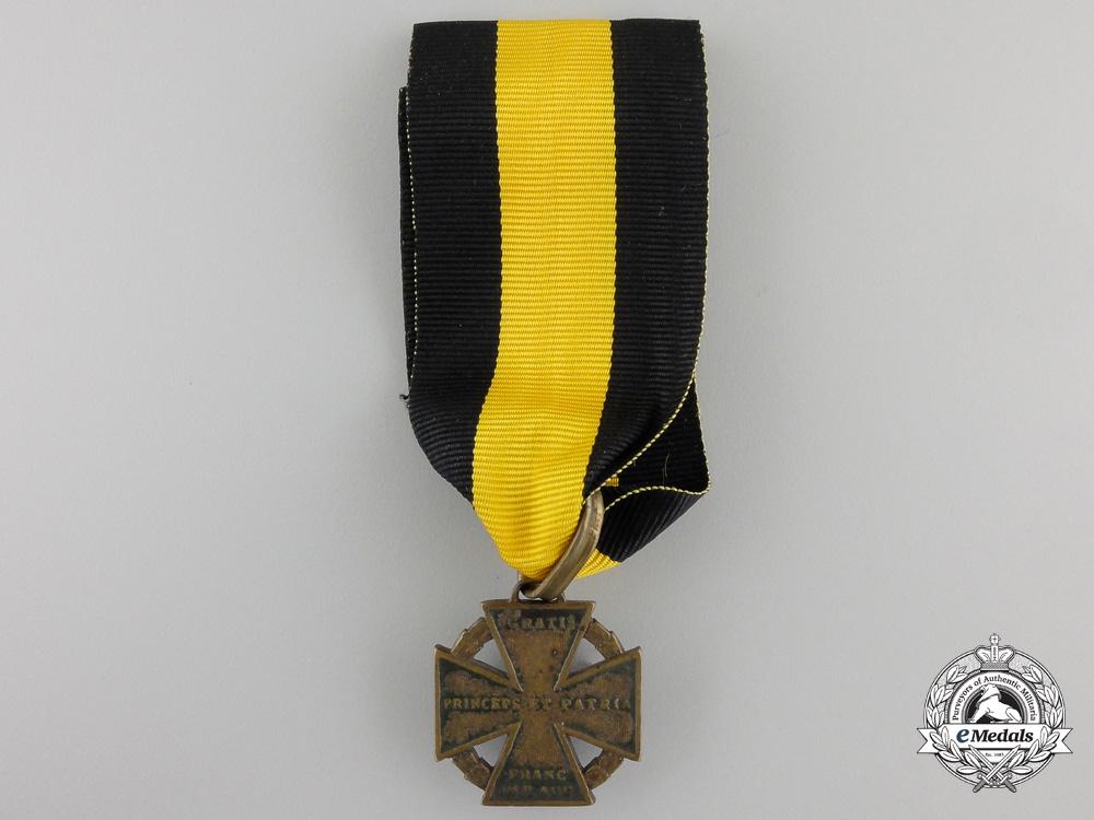A 1813-14 Austrian Army Cross (Kanonenkreuz)