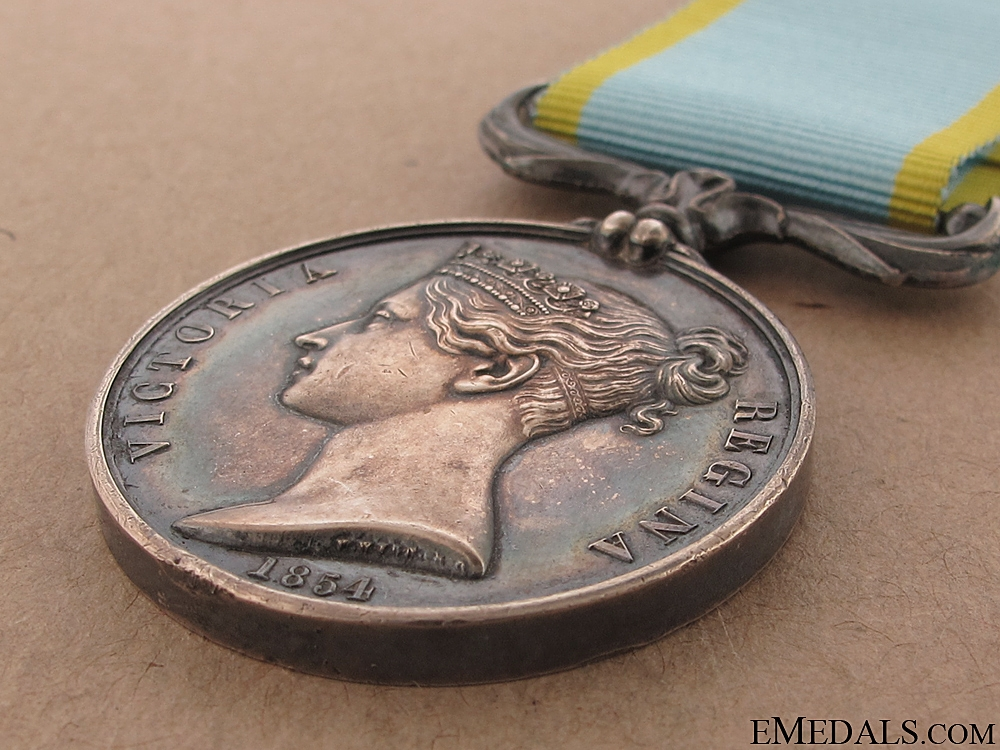 Crimea Medal 1854 with Early Photo