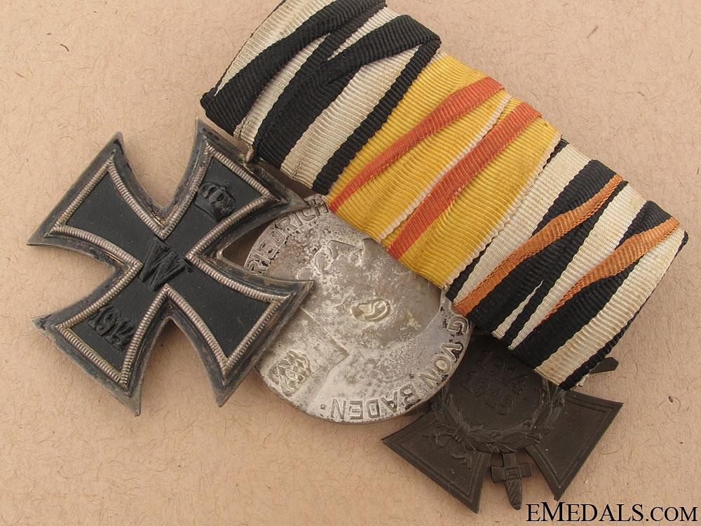 WWI Veteran's Group of Three