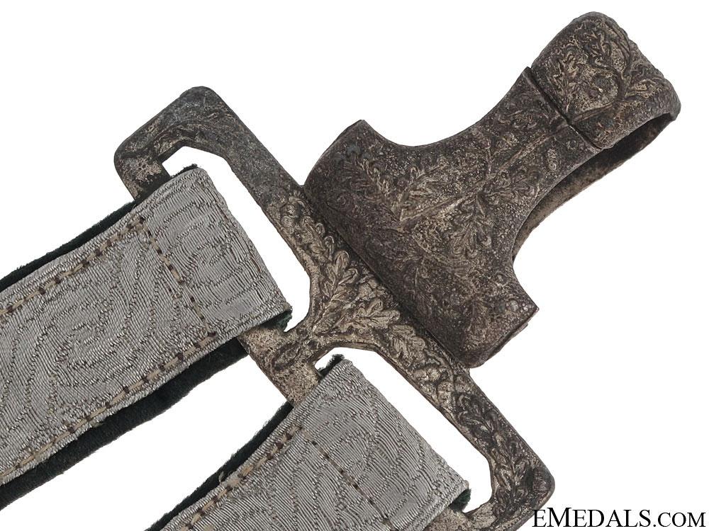 WWII Croatian Deluxe Air-Force Dagger Hangers