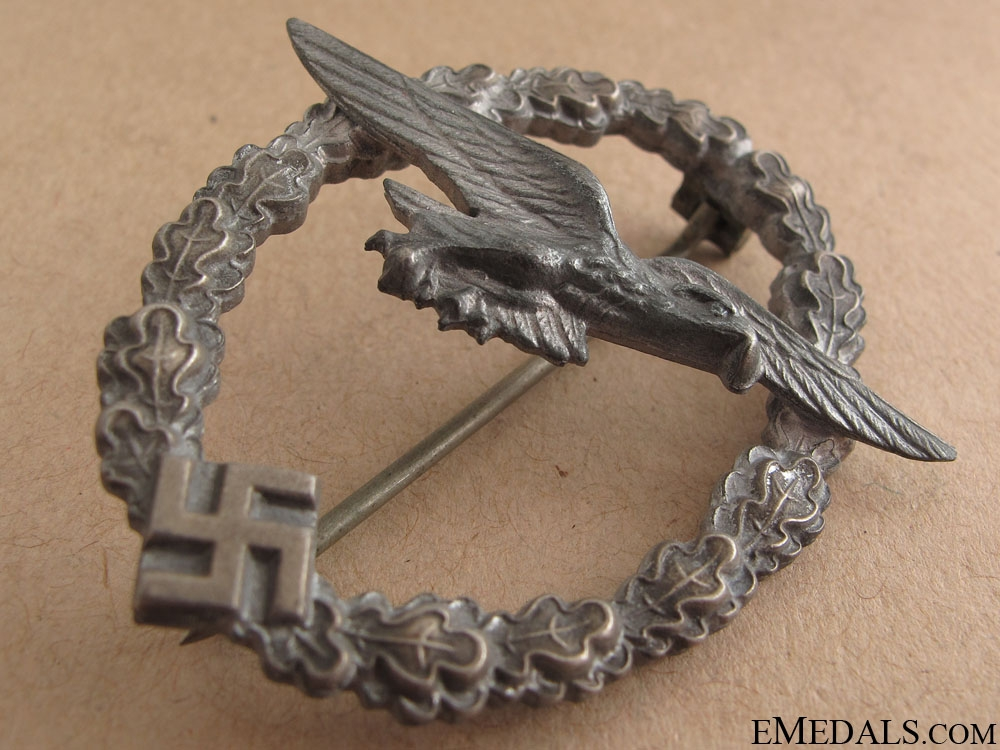 Glider Pilot's Badge – Zinc