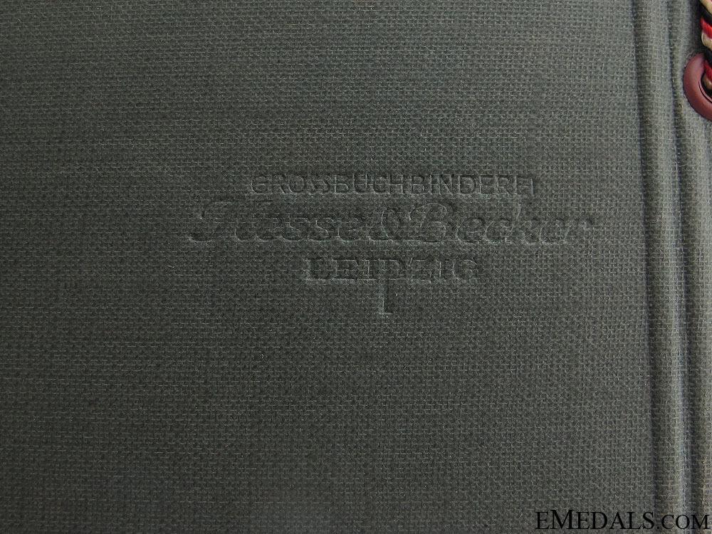 A Pre-WWII German Army Photo Album