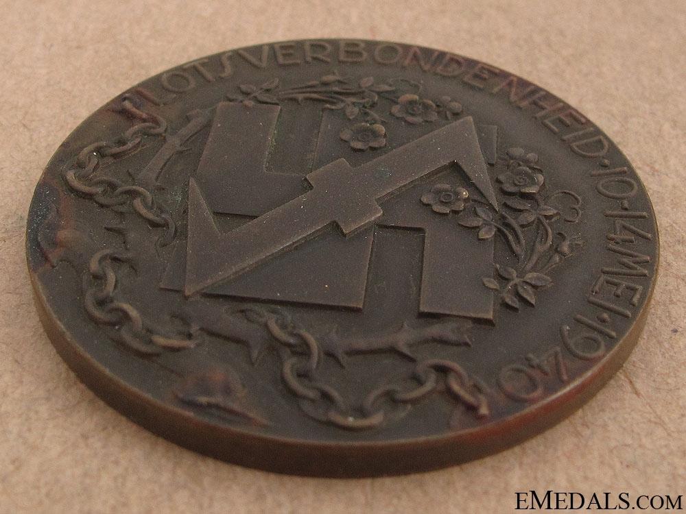 SS Mussert Medal 1940