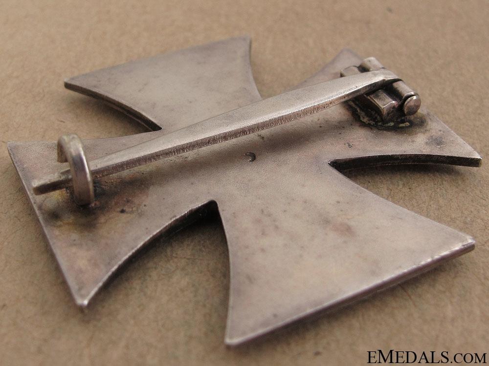 Iron Cross 1st Class 1939 by Alois Rettenmaier