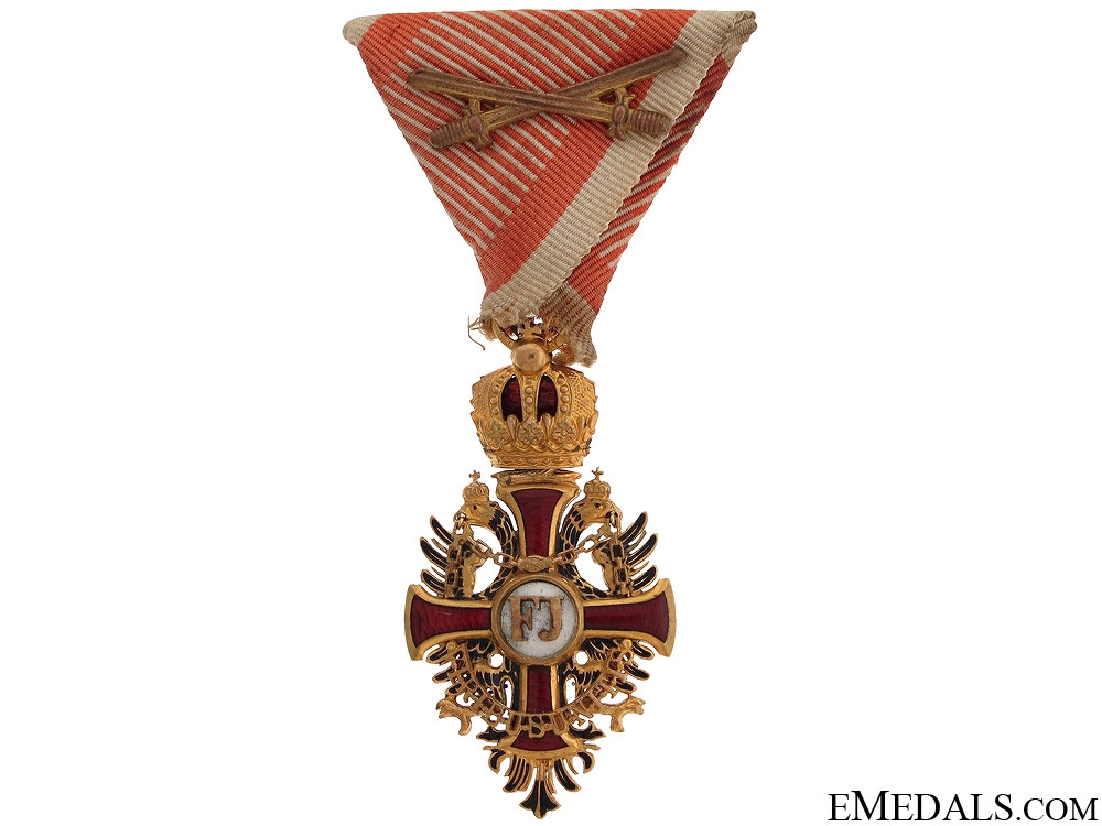 A WWI Period Order of Franz Joseph - Knight's Cross
