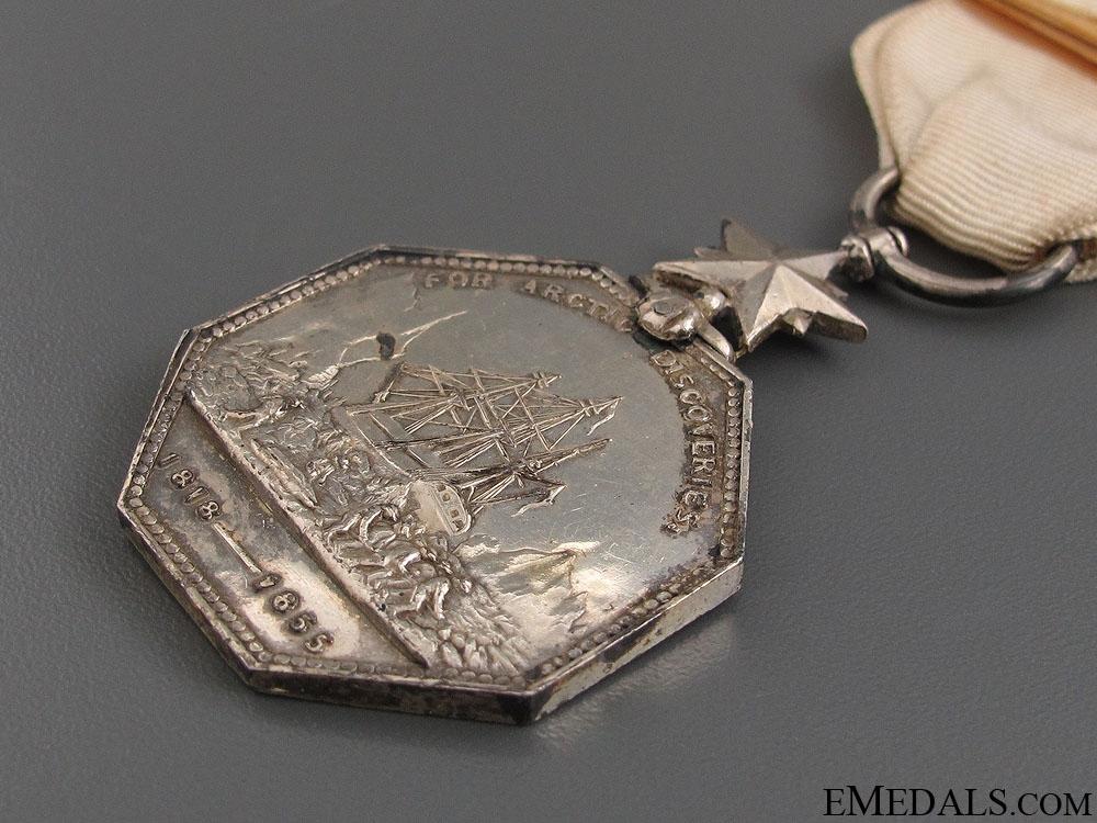 A Victorian 1857 Arctic Medal
