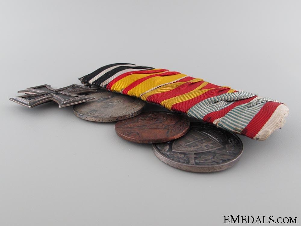 A Four Piece German Medal Bar