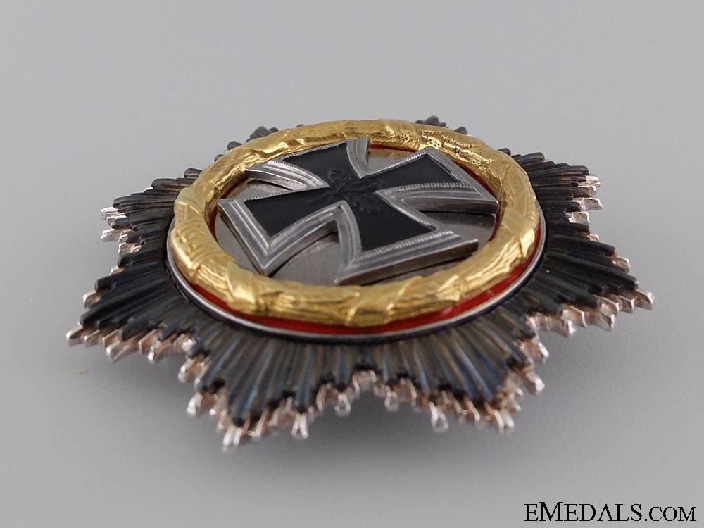 A Federal Republic German Cross in Gold