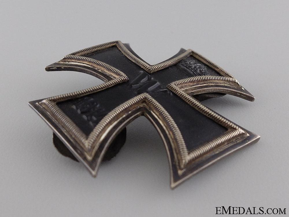 An Iron Cross 1st Class 1914; Duel Screw Posts