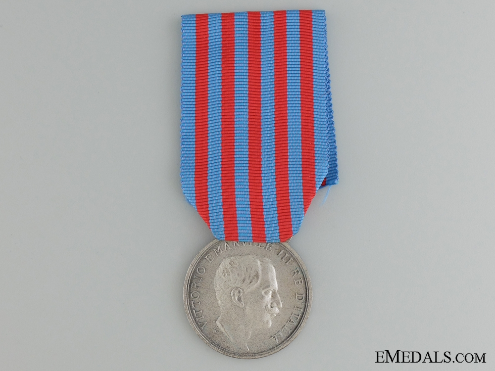 1911-12 Italian-Turkish Campaign Medal