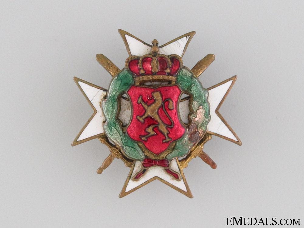 1913 Balkan War Commemorative Badge