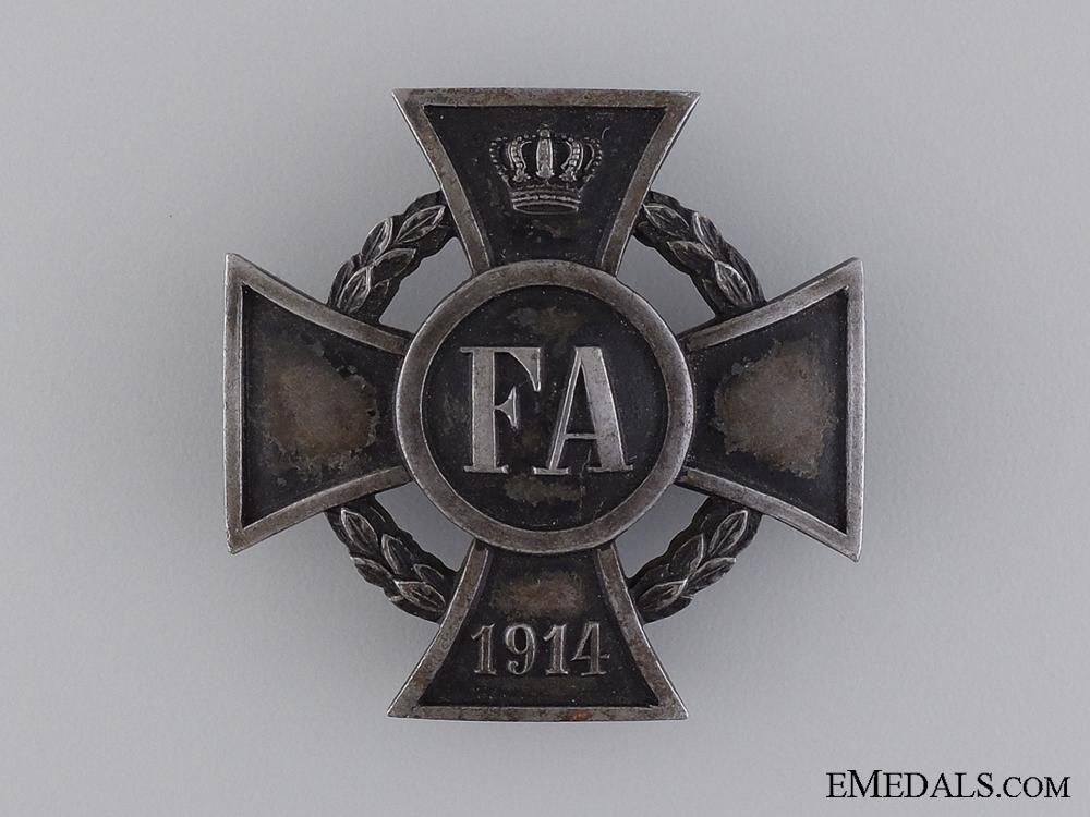 1914 Friedrich August Cross; First Class