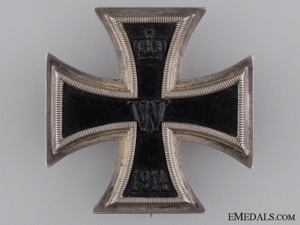1914 Iron Cross First Class; Marked 800 Silver