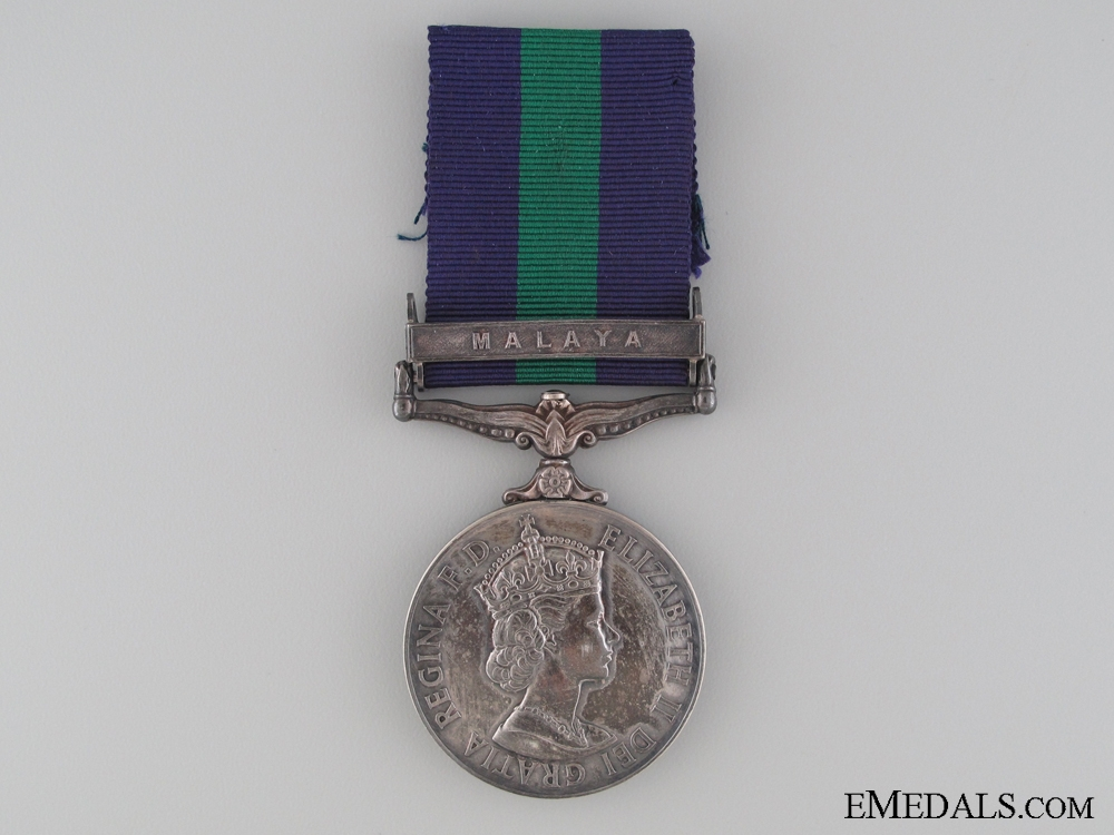 1918-1962 General Service Medal to the Cheshire Regiment