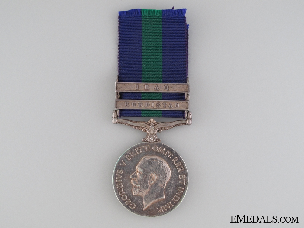 1918-1962 General Service Medal to the 39th Regiment