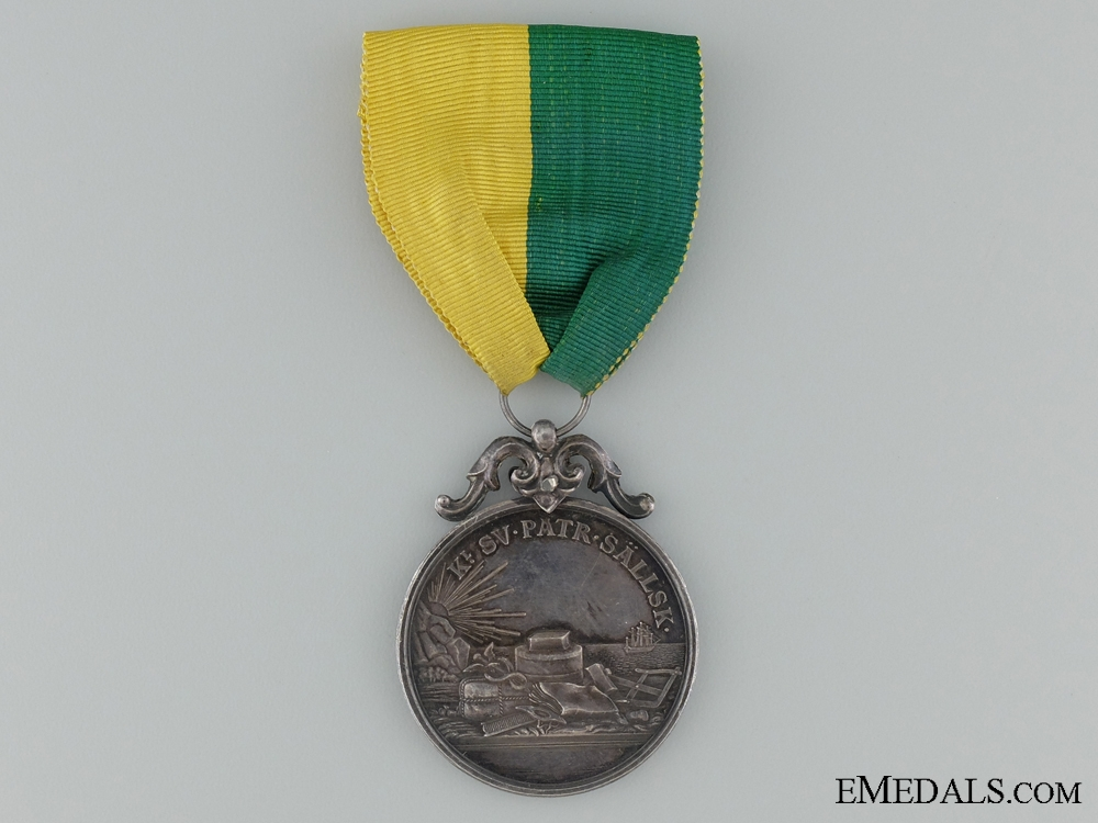 1922 Royal Swedish Patriotic Society Service Medal