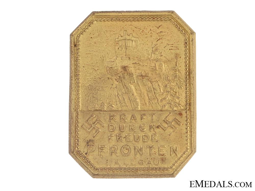 1930's Bronze Tinnie