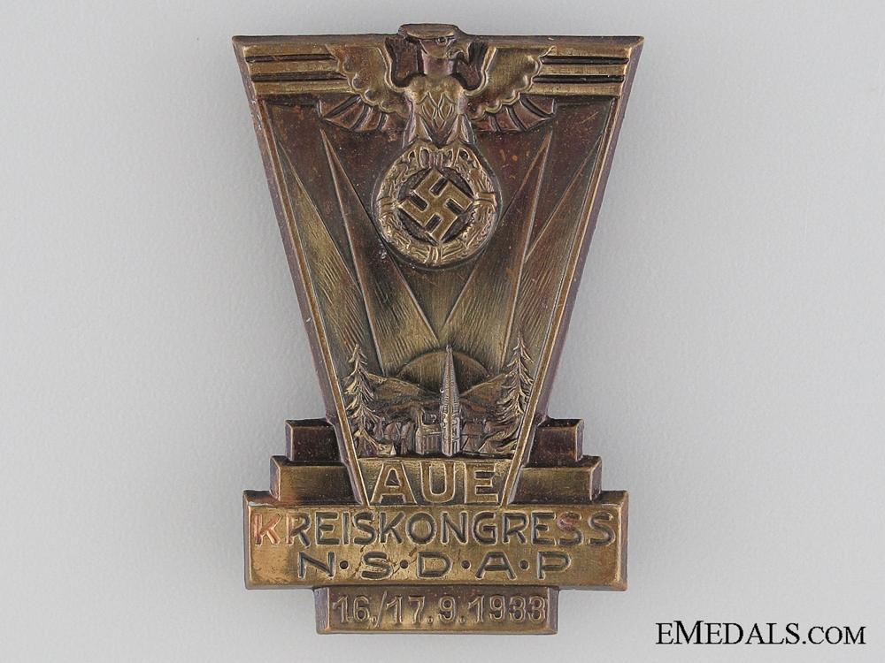1933 NSDAP Kreiskongress Tinnie