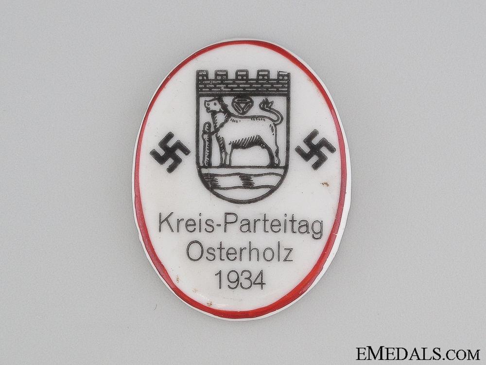 1934 Kreis-Parteitag Osterholz Badge