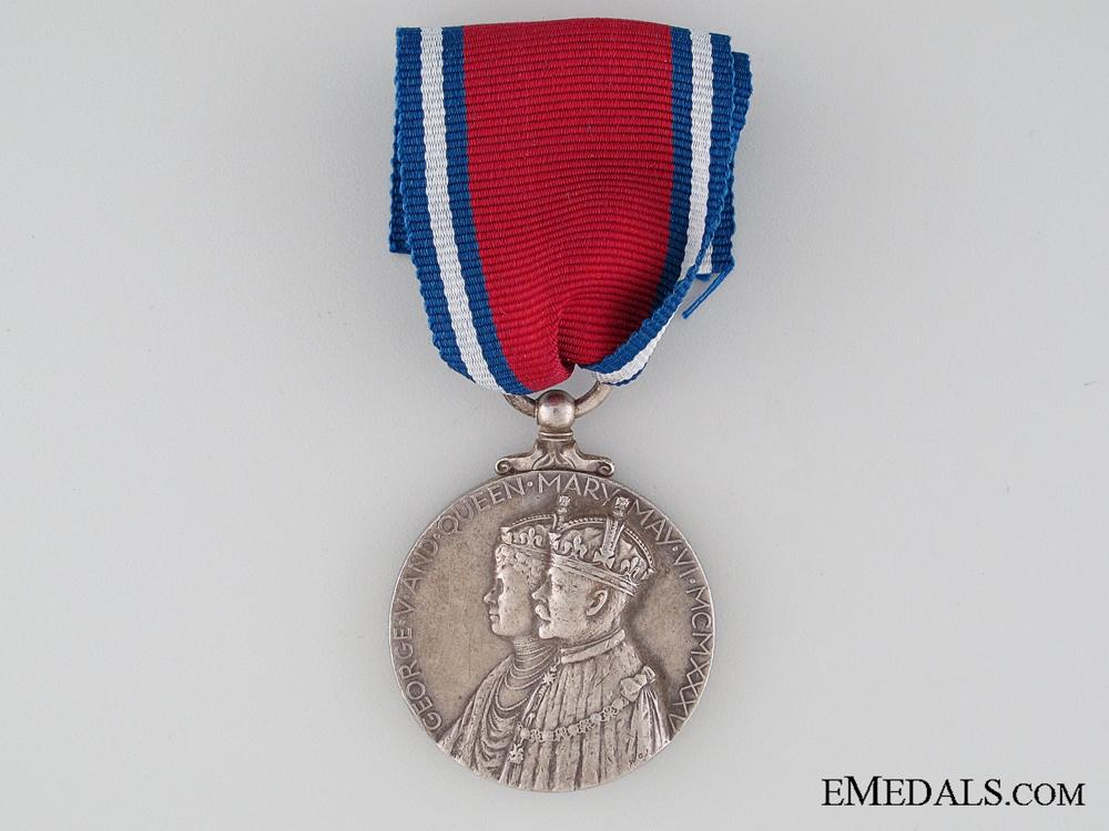 1935 GV Jubilee Medal