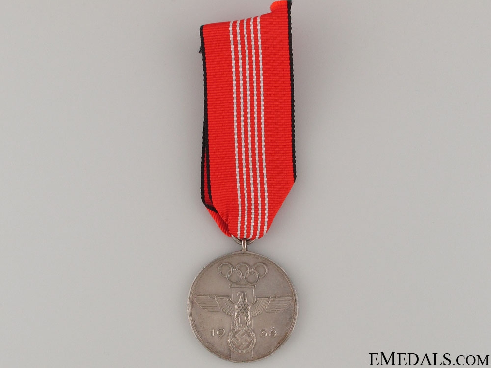 1936 Berlin Summer Olympic Games Medal