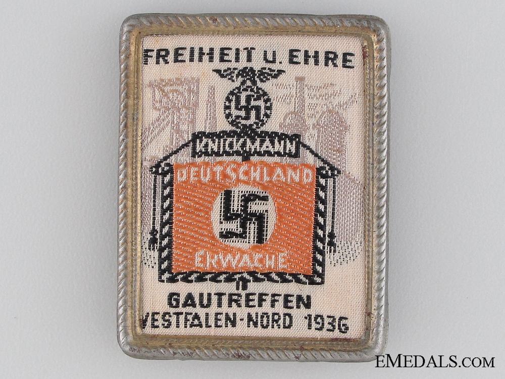 1936 Deutschland Ekwache Tinnie
