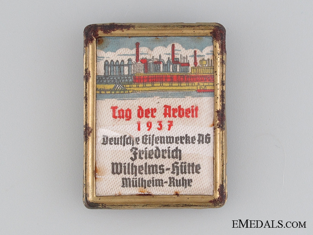 1937 German Iron Works Labour Day Tinnie