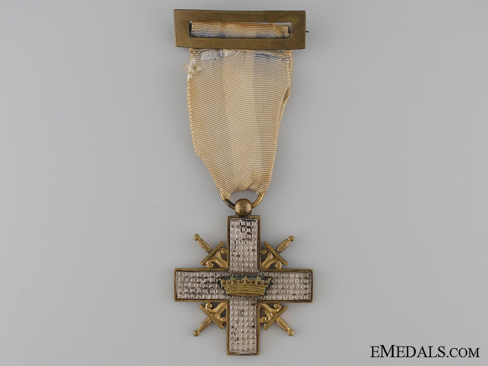 1937 Spanish War Cross; Franco Crown