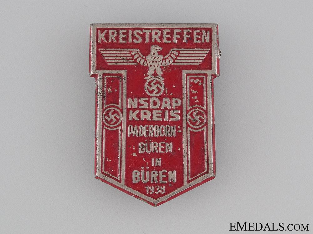 1938 NSDAP Kreistreffen Tinnie