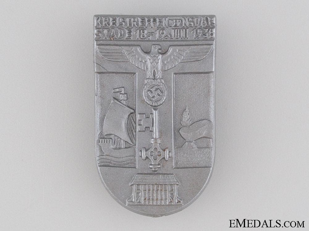 1938 NSDAP Kreistreffen Meeting Tinnie