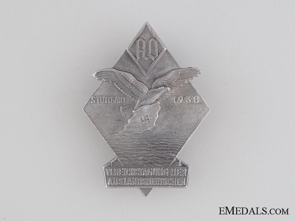 1938 Sixth Auslands-Organisation Tinnie