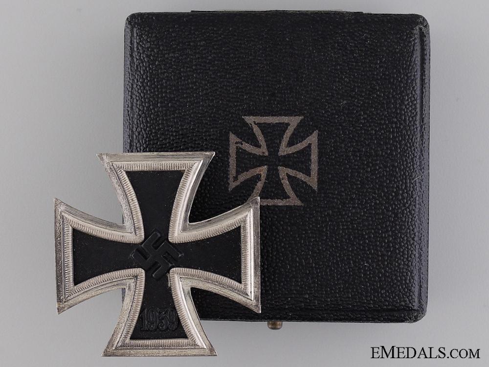 A Mint 1939 First Class Iron Cross by B. H. Mayer