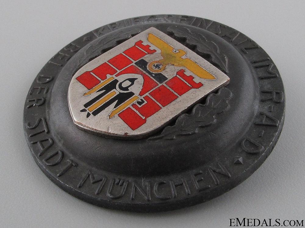 R.A.D. Award for War Effort