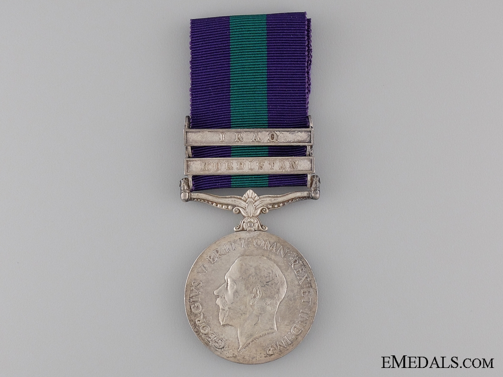 1962 General Service Medal to the 116th Mahrattas
