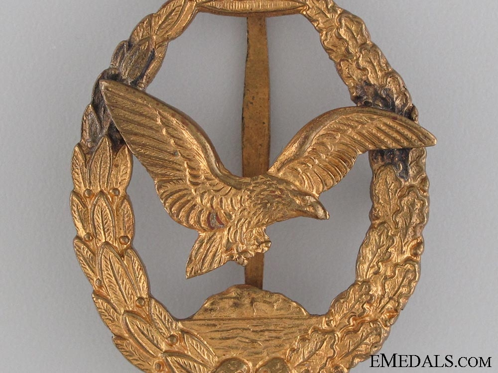 Commemorative Badge for Naval Pilots & Observers