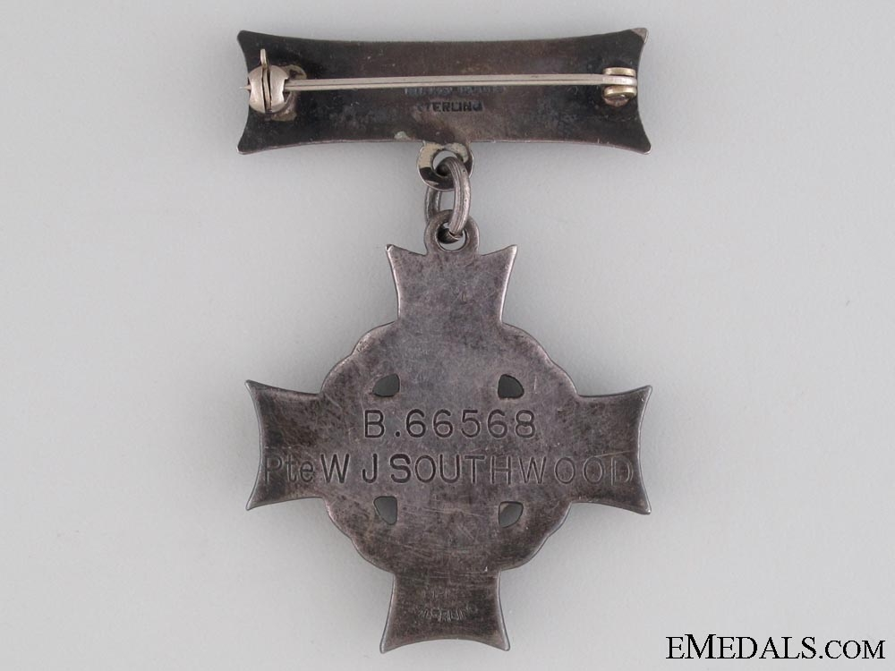 A Dieppe Casualty Memorial Cross & Family IGS Medal
