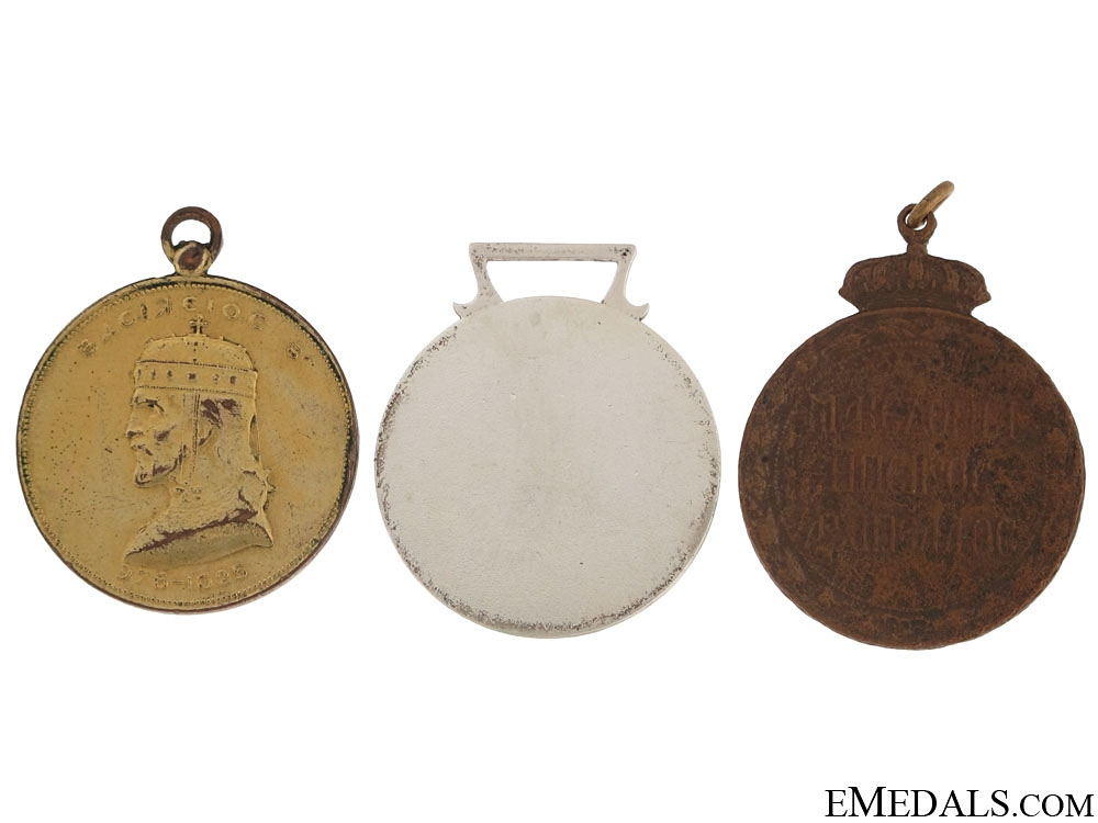 Three Greek Medals