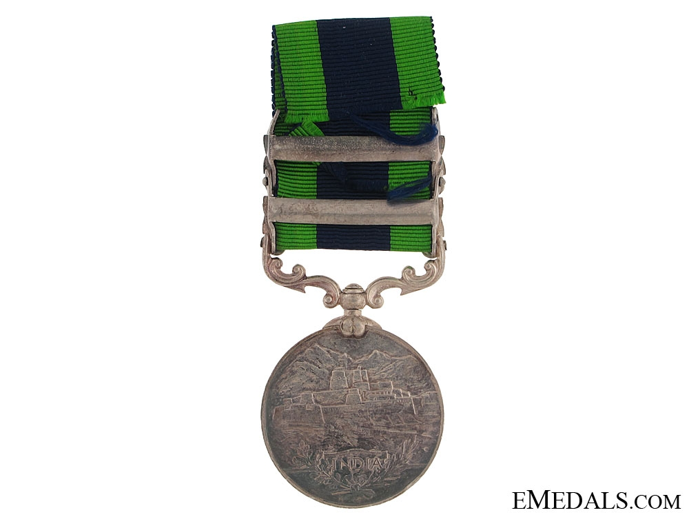 India General Service Medal - 12th Frontier Force Regiment