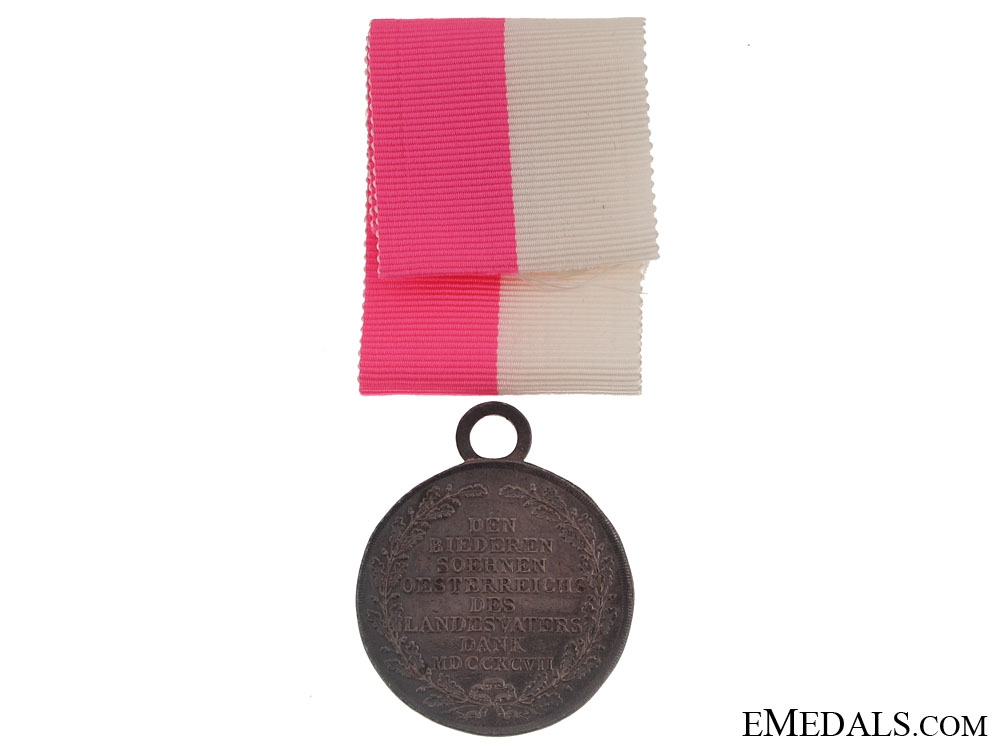 Lower Austria Military Merit Medal 1797