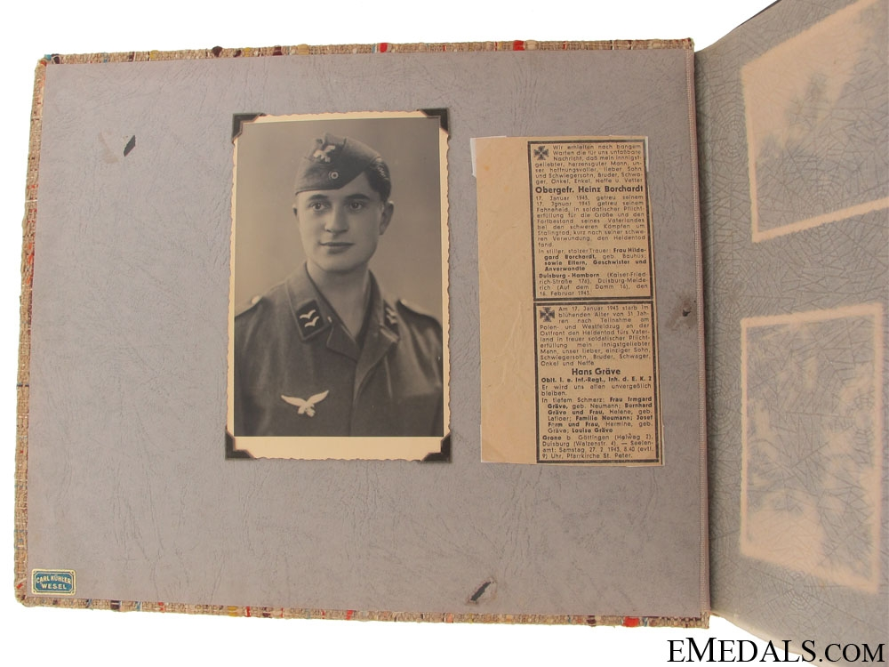A Italian Front Luftwaffe Photo Album