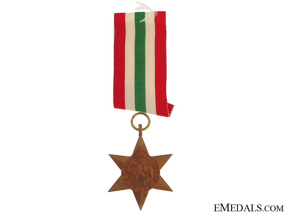 WWII Italy Star
