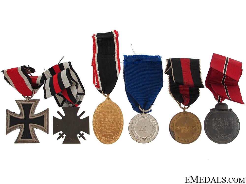 Six Third Reich Awards