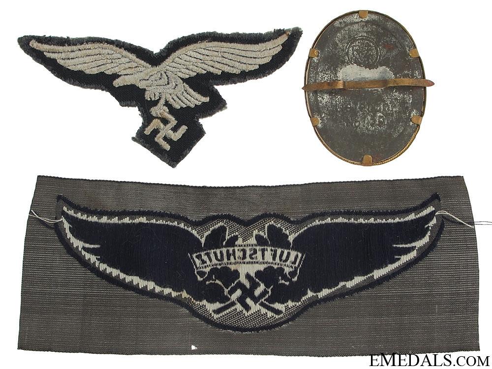 Three Cloth Badges/Insignia