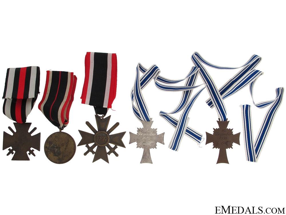 Five Third Reich Awards