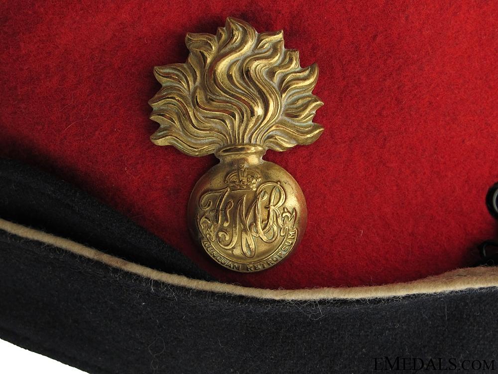 WWII Les Fusiliers Mont-Royal Side Cap