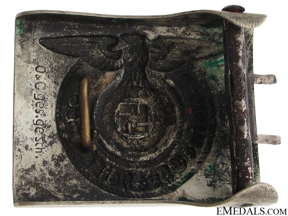 SS EM/NCOS Belt Buckle